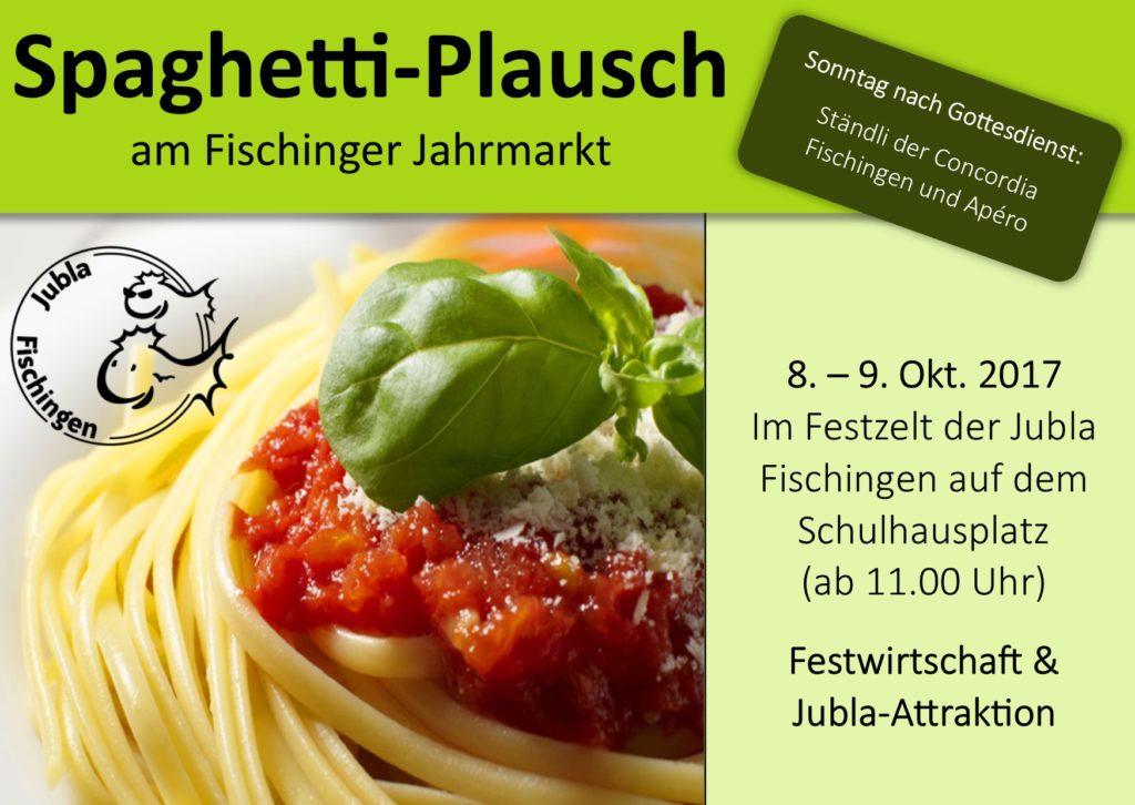 Spaghettiplausch 2017